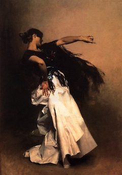 "Sargent John Singer ""Spanish Dancer"""